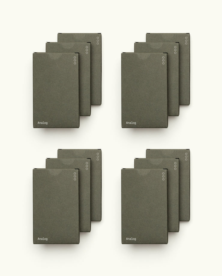 Preorder - Analog Cards (12-Pack)