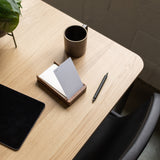 Analog Wood Card Holder
