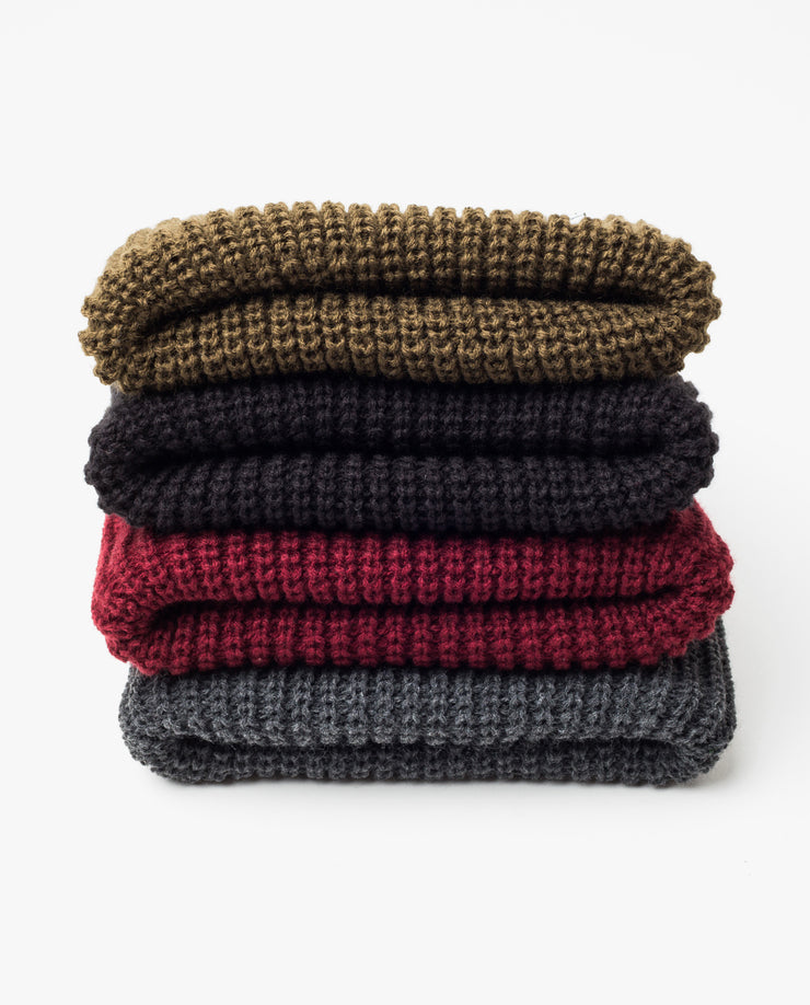 Chunky Knit Beanie (Charcoal)