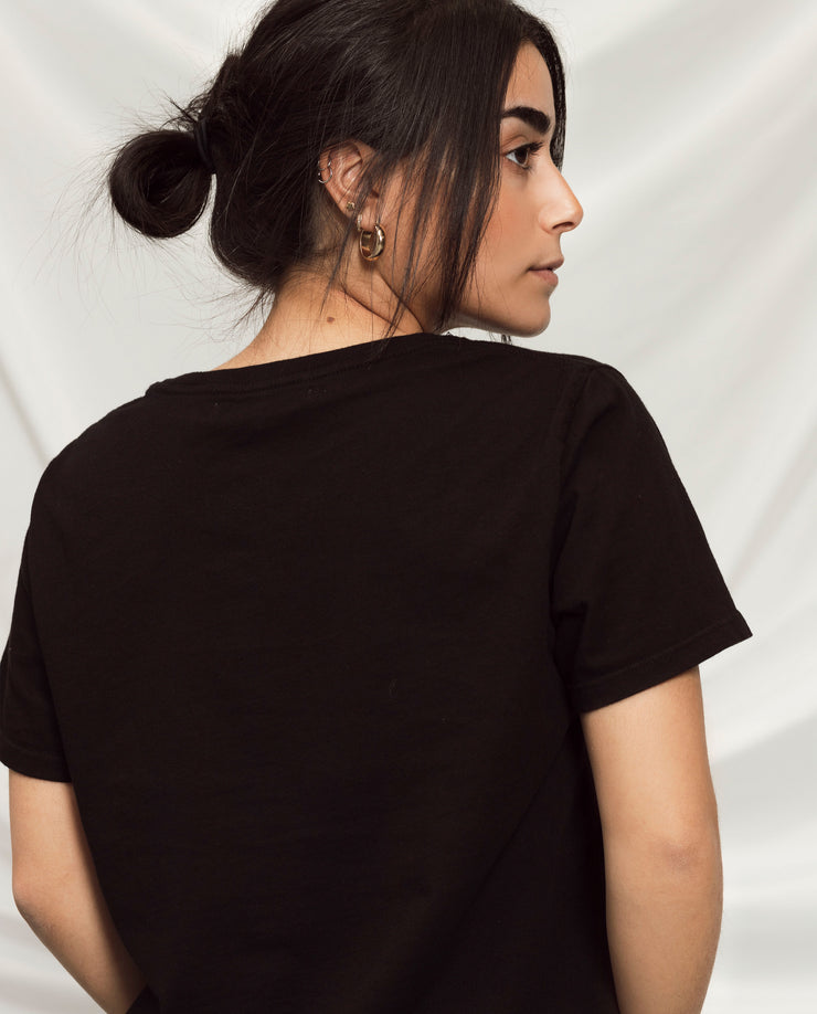 Women's Essential Tee (Standard Fit - Black)