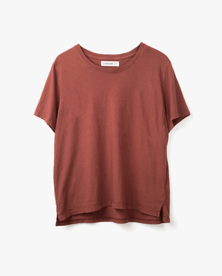 Women's Essential Tee (Standard Fit - Brick)