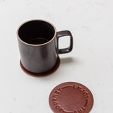 Leather Coasters (Enjoy the Journey - Set of 2 - Brown)