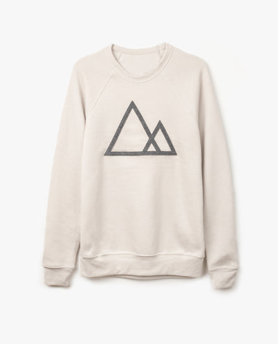 Mountains Crewneck (Sand)