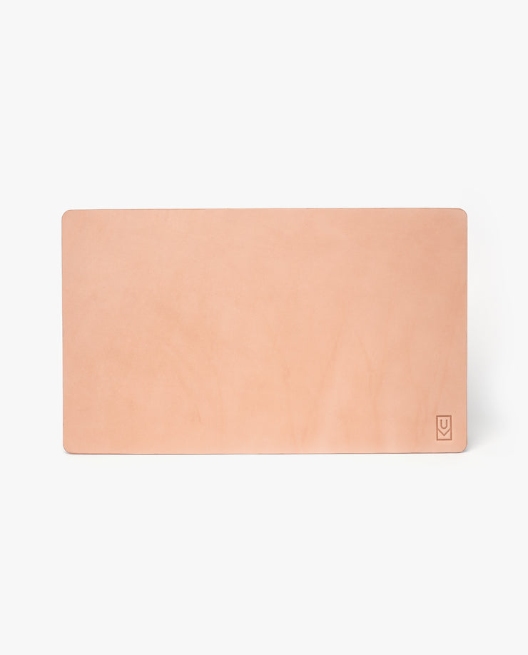 Leather Desk Pad (Ugmonk Logo - Natural)