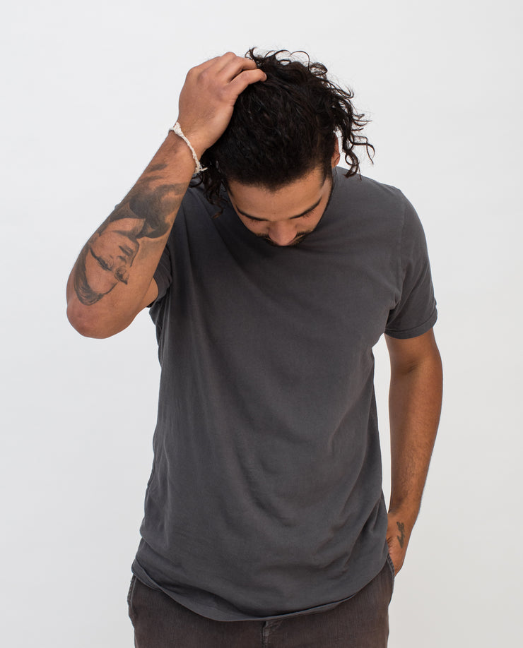 Men's Essential Tee (Charcoal)
