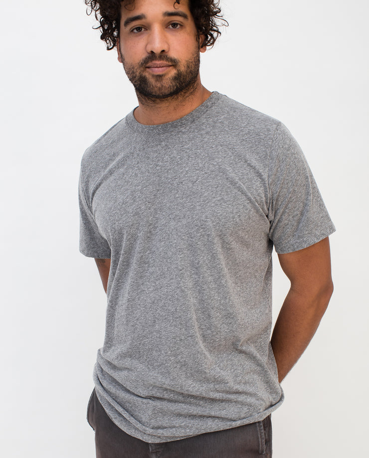 Men's Essential Tee (Heather Gray Triblend-5-pack)