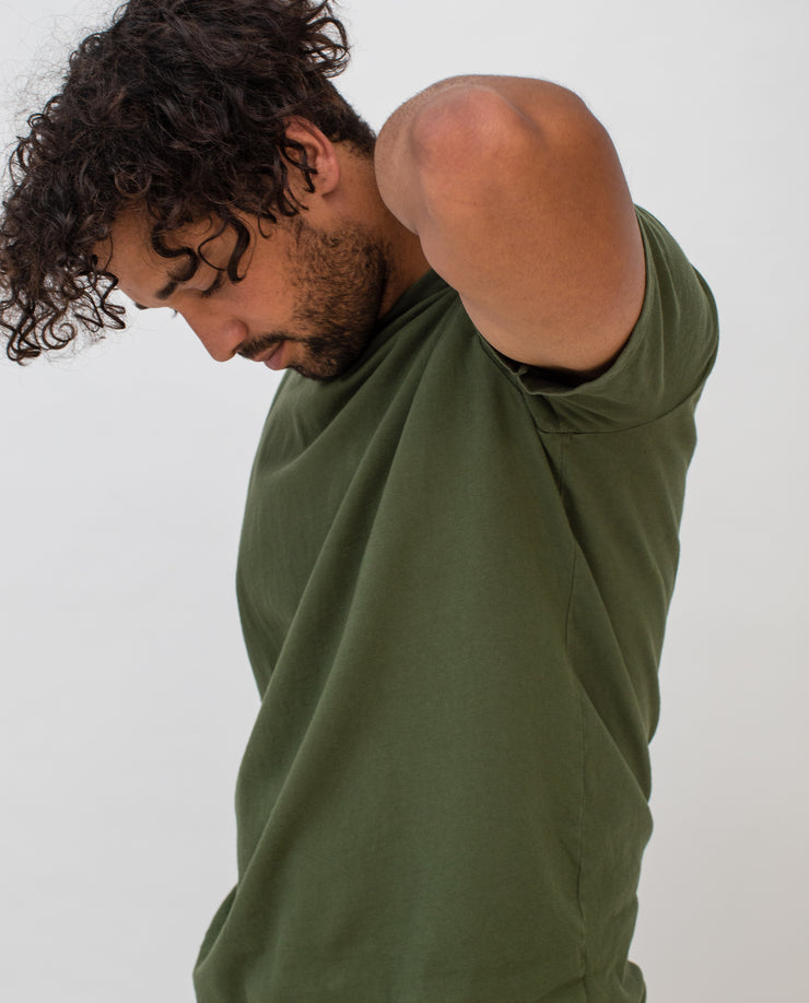 Men's Essential Tee (Olive 3-Pack)