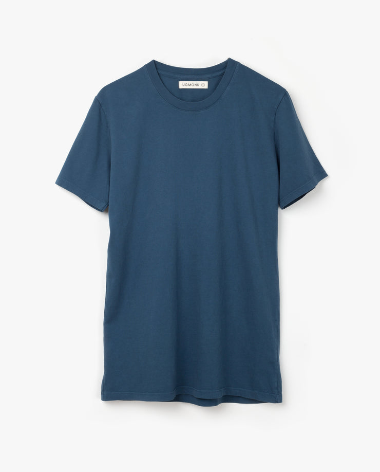 Men's Essential Tee (Washed Indigo 5-Pack)