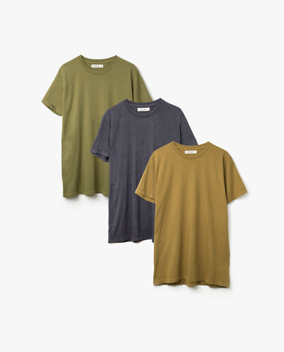 Men's Essential Tee (Fall Kit - 3-Pack)