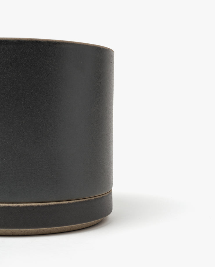 Hasami Large Planter (Matte Black)