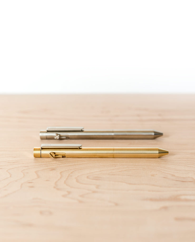 Bolt Action Pen (Brass)