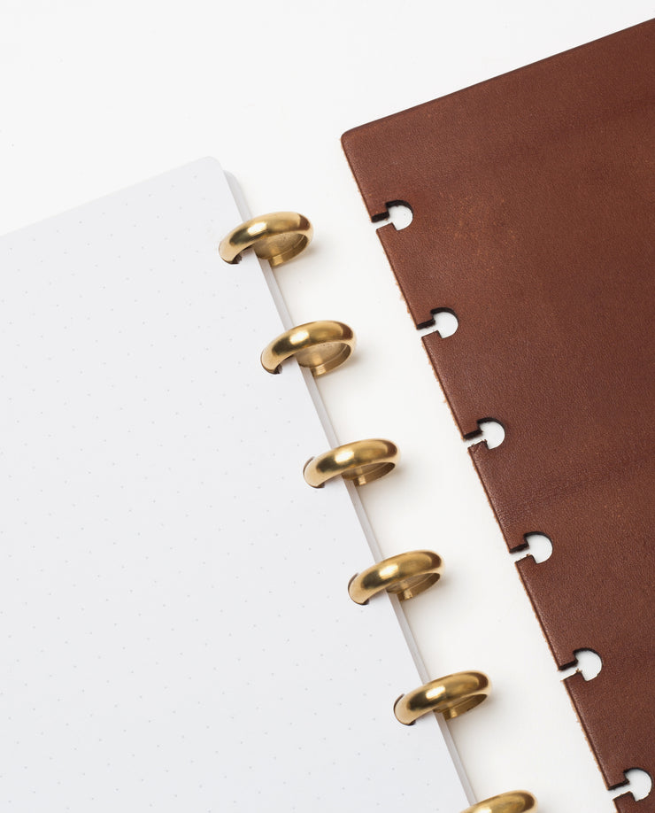 Discbound Heirloom Journal (Brown)