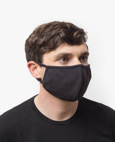 Face Mask (Black - 9 Pack)