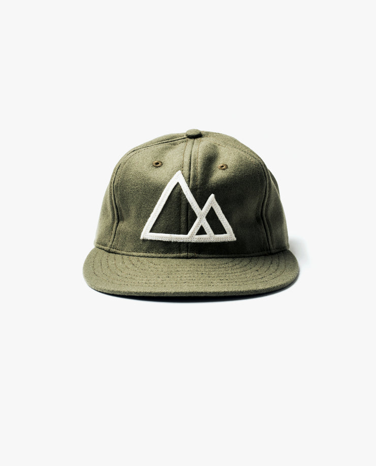 Mountains Baseball Cap (Olive)