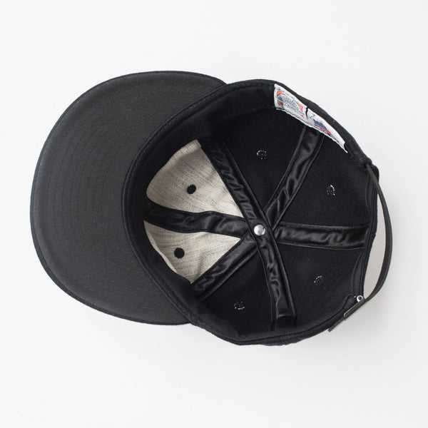 Mountains Baseball Cap (Solid Black)