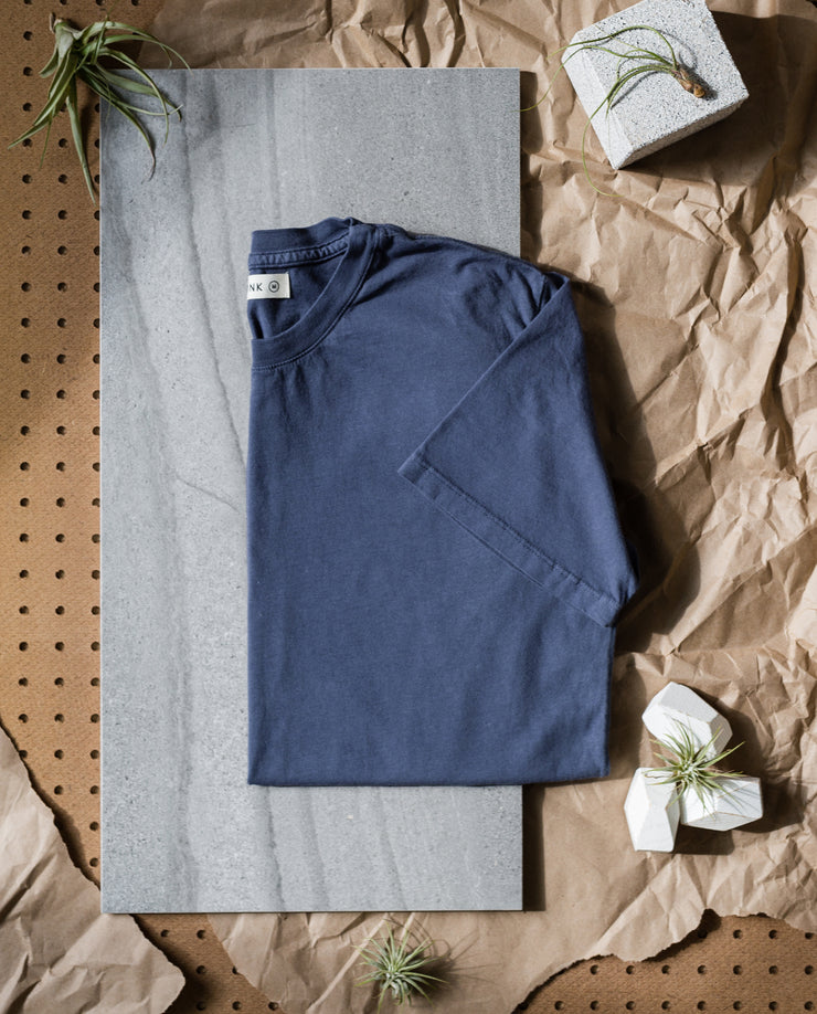 Men's Essential Tee (Navy 5-Pack)