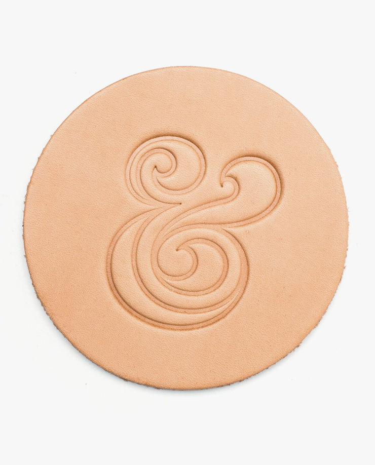 Leather Coasters (Natural - Set of 4)