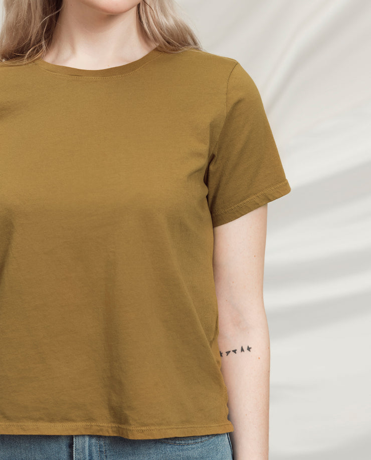 Women's Essential Tee (Standard Fit - Sienna)