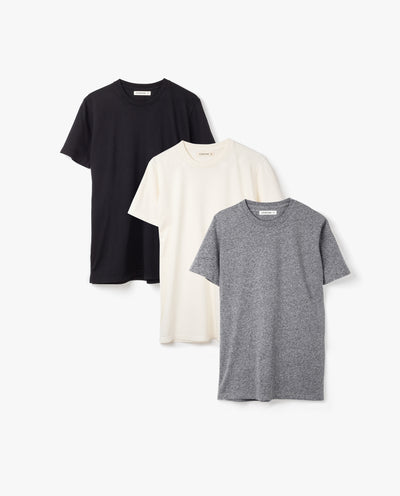Men's Essential Tee (Starter Kit - 3-Pack)