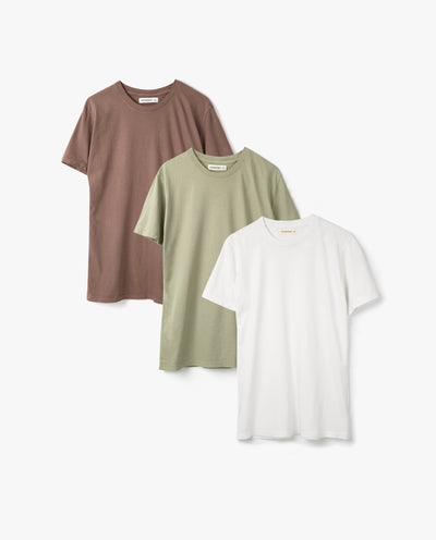 Men's Essential Tee (Summer Kit - 3-Pack)