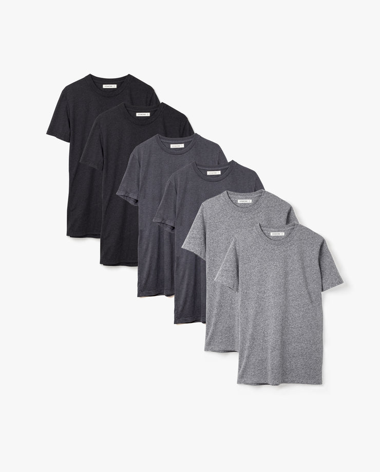 Men's Essential Tee (Triblend Kit - 6-Pack)