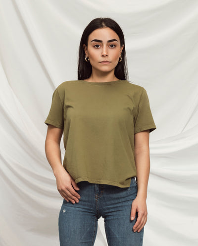Women's Essential Tee (Standard Fit - Willow)