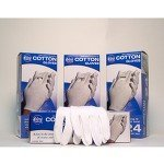 Cotton Dermal Gloves - Large - Model 74639 - Box Of 48