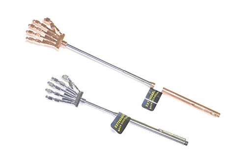 Japanese Hand Design Extendable Telescopic Back Scratcher W Pocket Clip,Body Massager Relieves Stress, Stiffness And Muscle Soreness. Increase Blood Circulation, Lightweight And Simple To Use.