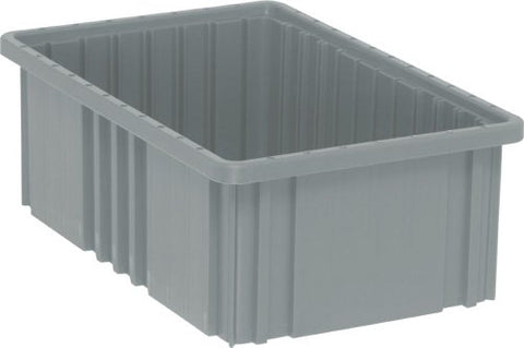 Quantum Storage Dg92060Gy Dividable Grid Storage Container, 16-1/2  L X 10-7/8  W X 6  H, Gray