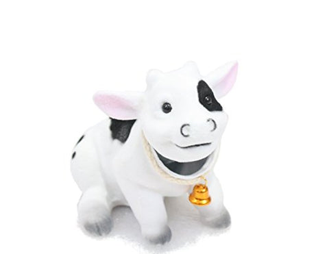 Bobblhead Cow By Batty Bargains