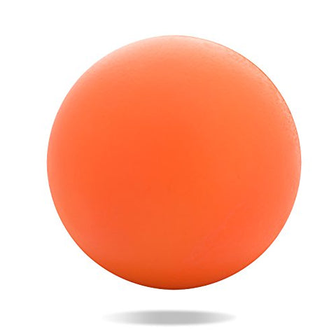 Massage Ball - For Deep Tissue Foot, Back, Plantar Fasciitis &Amp; All Over Body Deep Tissue Muscle Therapy (Orange)