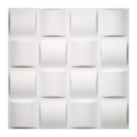 Donny Osmond Home 3Dwtbskt06 Basket Weave 3D Self Adhesive Wall Tiles,