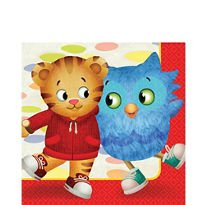 American Greetings Daniel Tiger 16-Count Lunch Napkins,,