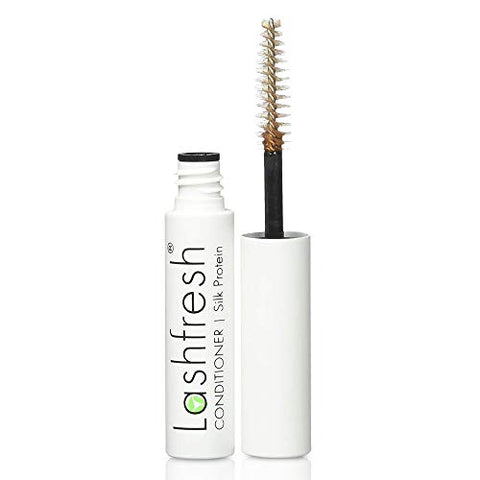 Lashfresh Eyelash Extension Conditioner With Silk Protein, 3Ml. Keep Natural Lashes Healthy And Strong, Soft And Silky Lash Extensions.
