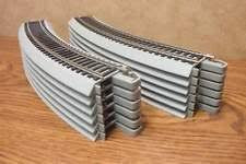 Bachmann Trains Snap-Fit Nickel Silver E-Z Track 18  Radius Curved Track