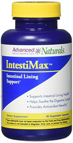 Advanced Naturals Intestimax Caps, 90 Count