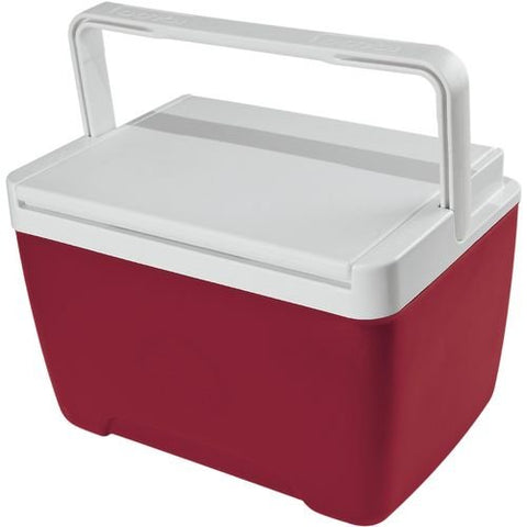 Igloo Island Breeze 9-Qt. Personal Cooler, Color: Red, Liter: 9 Qt, Volume: 9 Qt