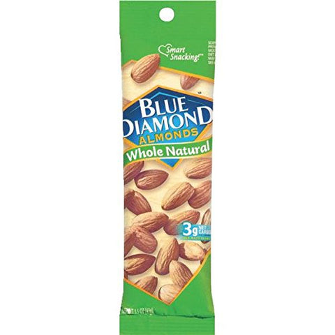 1.5 Oz Whole Natural Almond Nuts