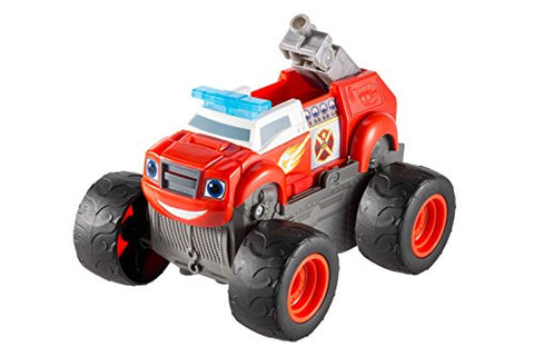 Fisher-Price Nickelodeon Blaze &Amp; The Monster Machines, Transforming Fire Truck Blaze