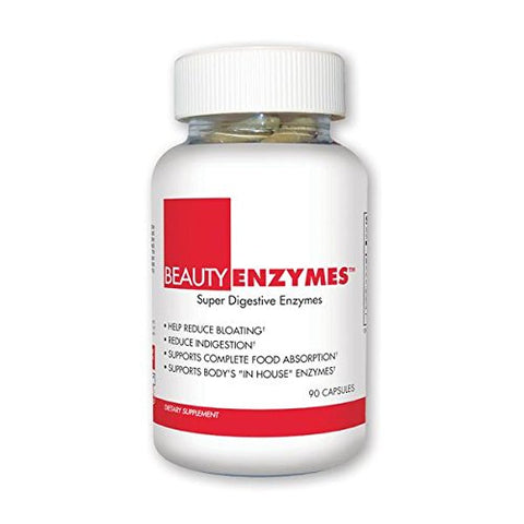 Beautyfit Beautyenzymes, Digestive Enzymes For Women, 90 Count