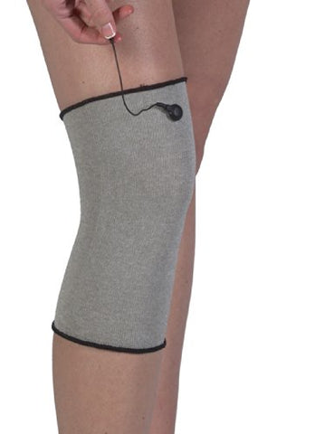 Bilt-Rite Mastex Health Conductive Knee Support, Silver