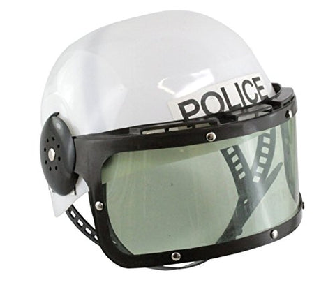 Forum Novelties Childrens Plastic Police Swat Costume Helmet