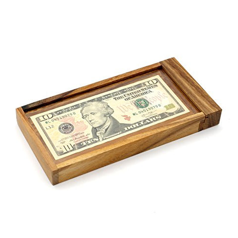 Magic Money Puzzle Gift Box Brain Teaser Puzzle For Adults