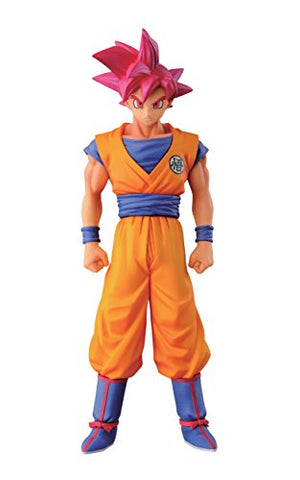 Banpresto Dragon Ball Z 5.9  Super Saiyan God Son Goku Figure, Chozousyu Series