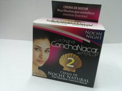 Concha Nacar De Perlop Night Cream, 2 Ounce
