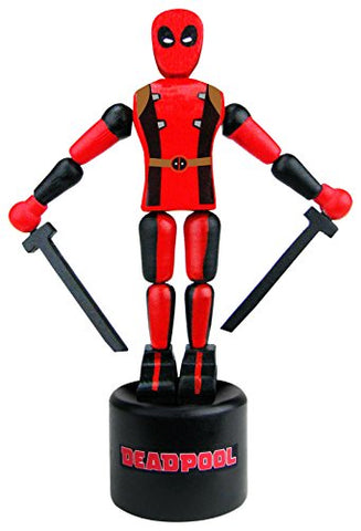 Entertainment Earth Deadpool Wood Push Puppet