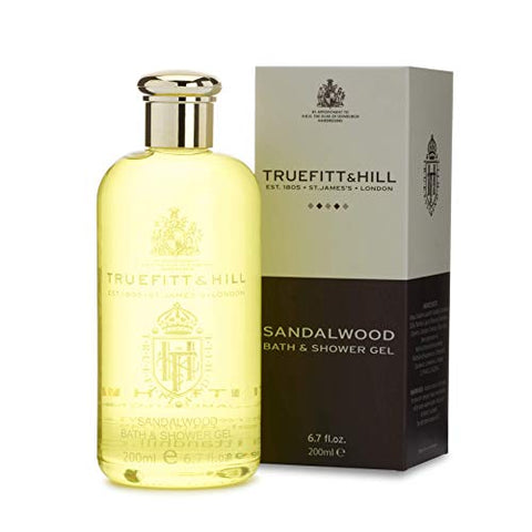Truefitt &Amp; Hill Bath &Amp; Shower Gel- Sandalwood (6.7Oz)