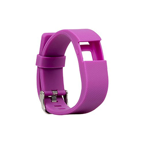 Blueweigh Super Sport Replacement Wristband For Fitness Activity Trackers (Purple)