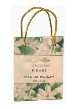 Royal Hawaiian Pikake Foaming Bath Sea Salts Bag 1.5 Oz.