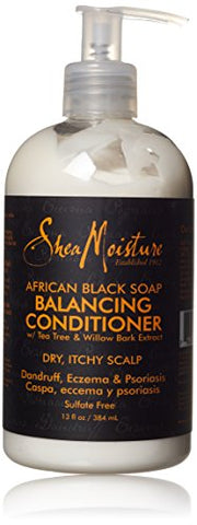 Shea Moisture African Black Conditioner Balance, 12 Ounce